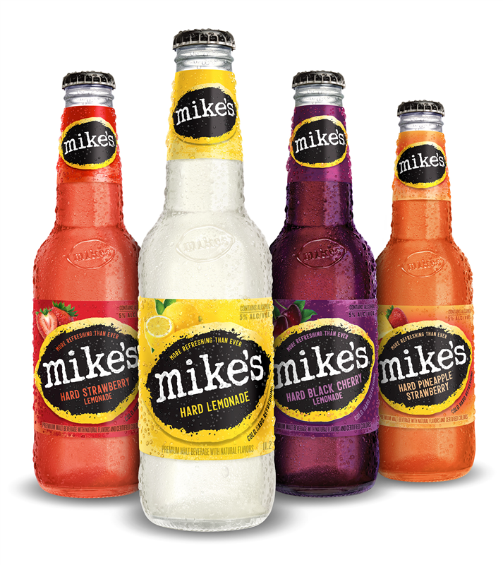 mike's Hard bottles